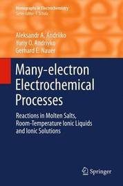 Many-electron Electrochemical Processes by Aleksandr A. Andriiko