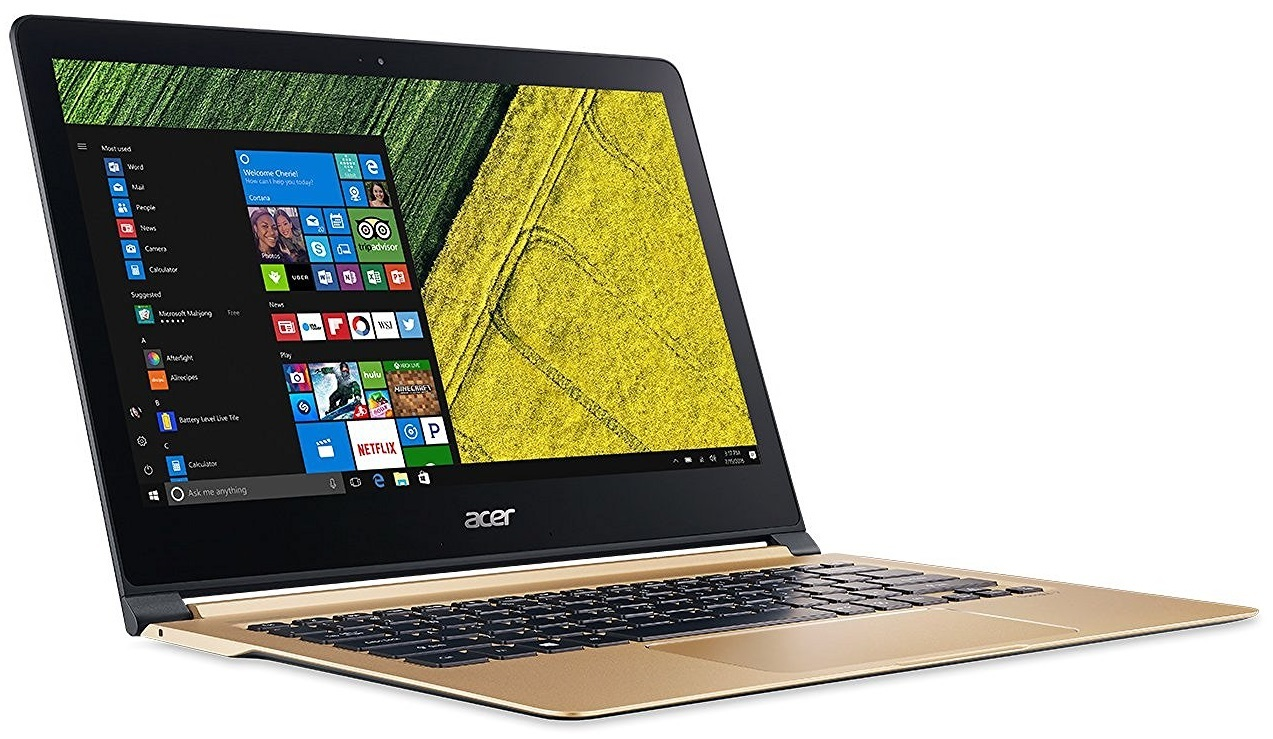 "Acer Swift 7 SF713-51 13.3"" Laptop Intel Core i7-7Y75 8GB image"