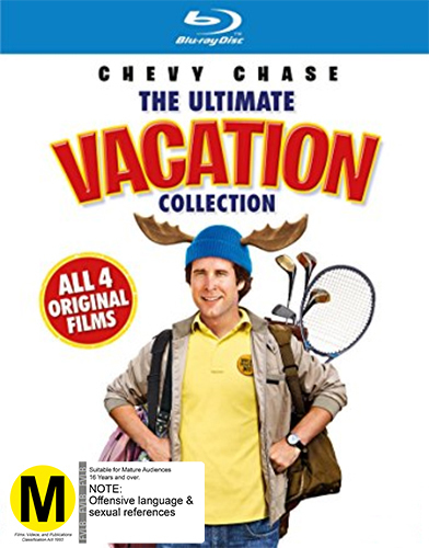 National Lampoons Vacation Box Set on Blu-ray image