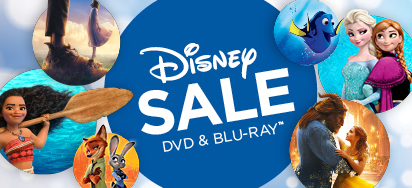 Disney DVD & Blu-ray Sale!