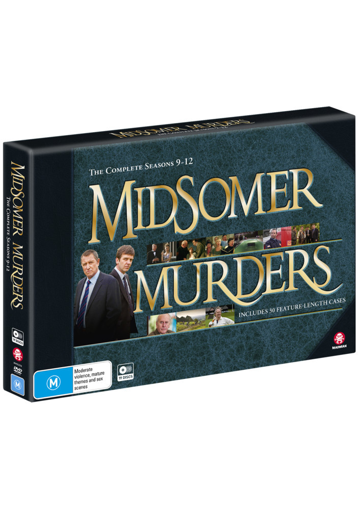 Midsomer Murders - Season 9 - 12 Collection (Limited Edition) on DVD image