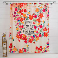 Natural Life: Shower Curtain - Best Day Ever