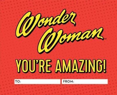Wonder Woman: You're Amazing! by Warner Bros. Consumer Products