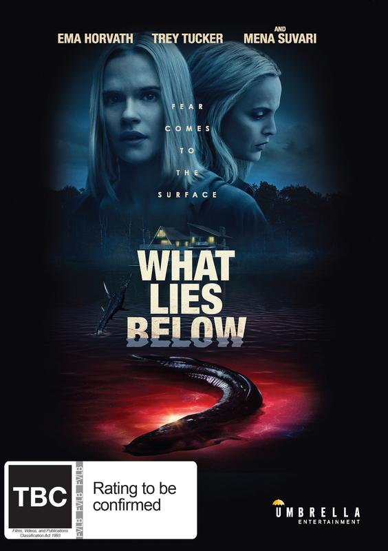 What Lies Below on DVD