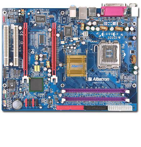 Albatron Motherboard PX915SLI LGA775 2X PCIE+SATA+LAN+7.1SND image