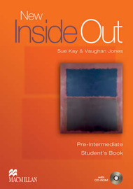 New Inside Out Pre-intermediate: Student's Book Pack by Sue Kay image