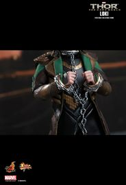 "Thor: The Dark World Hot Toys Loki 12"" Action Figure"
