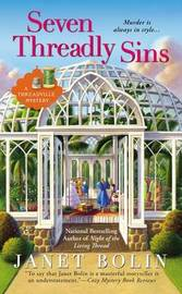 Seven Threadly Sins by Janet Bolin image