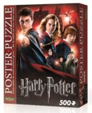Harry Potter: 500pc Poster Puzzle (Hogwarts School)