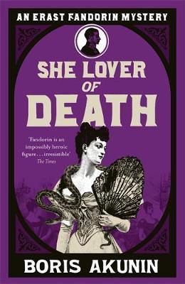 She Lover Of Death by Boris Akunin image