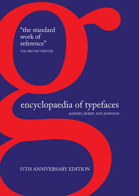 Encyclopaedia of Typefaces by W.P. Jaspert