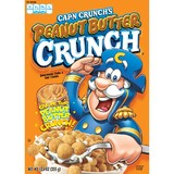 Cap'n Crunch Peanut Butter Cereal (12.5oz)