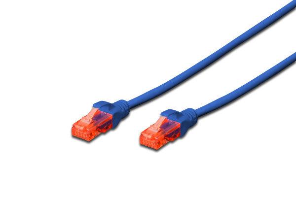 Digitus UTP CAT6 Patch Lead - Blue (0.2m)