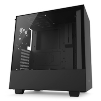 NZXT H500 - Tempered Glass Matte Black