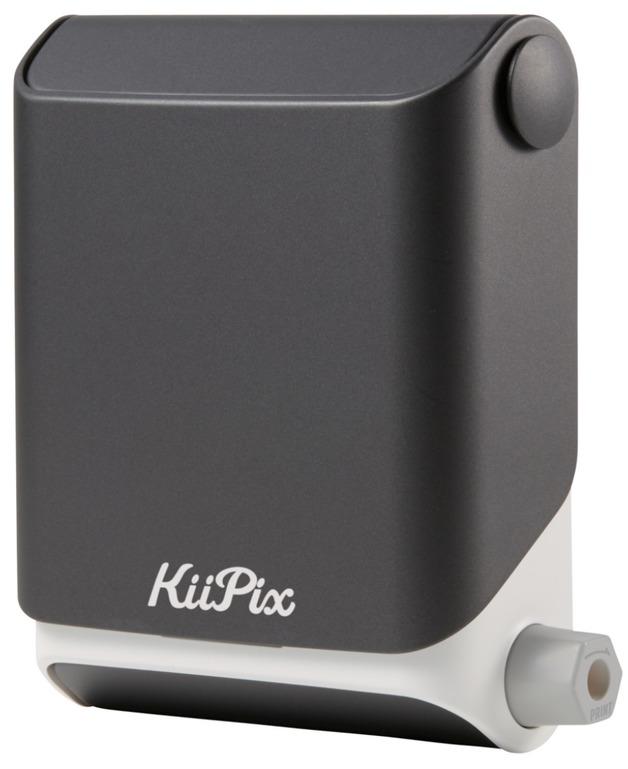 KiiPix Smartphone Picture Printer - Jet Black