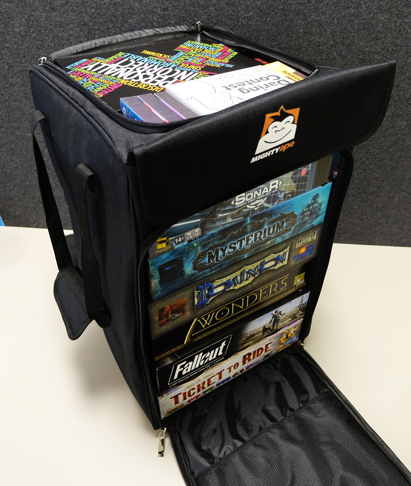 Mighty Ape Board Game Bag - Backpack image