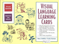 Spanish Adjectives and Adverbs: Visual Language Learning Cards by B. J. Demillion image