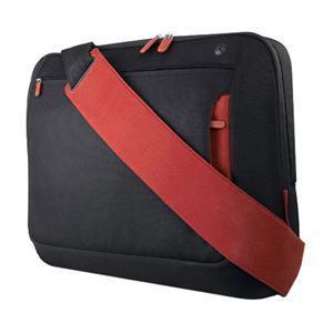 Belkin 15.4 Messenger Bag Jet/Cabernet