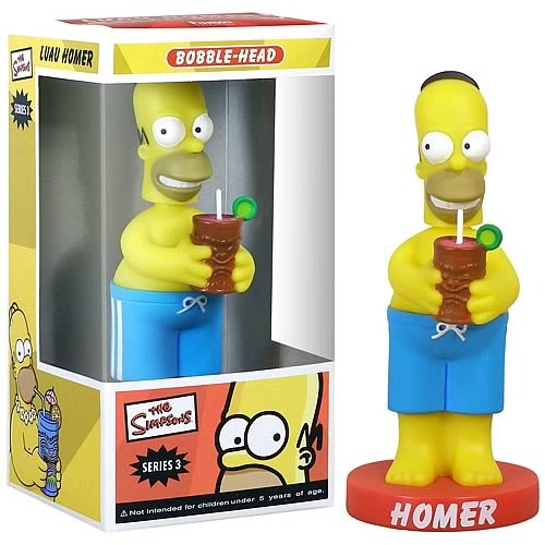 Simpsons Tiki Mug Homer Bobble Head