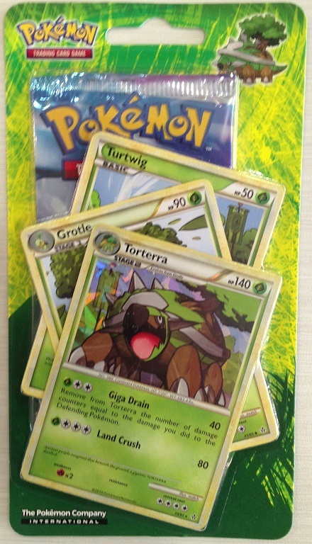 Pokemon Tcg Evolutions Pack Turtwig Grotle Torterra At Mighty
