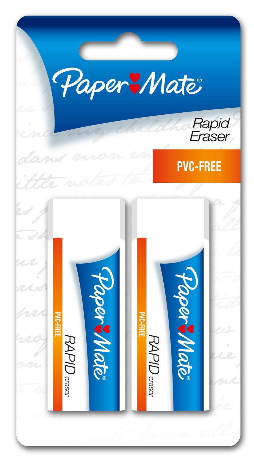 Papermate Rapid Eraser Pkt2 image