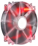 200mm Cooler Master MegaFlow Silent Case Fan - Red LED