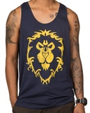 World of Warcraft Alliance Spray Men's Tank (S)