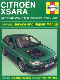 Citroen Xsara Service and Repair Manual by John S. Mead image