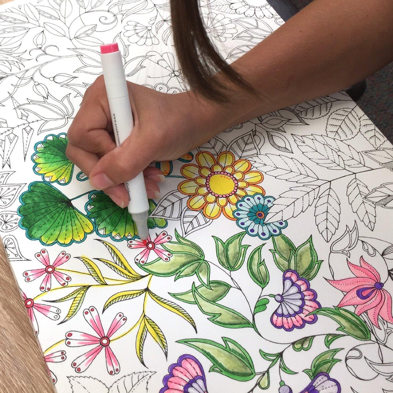 Buy Johanna Basford Canvas 12x24 Secret Garden