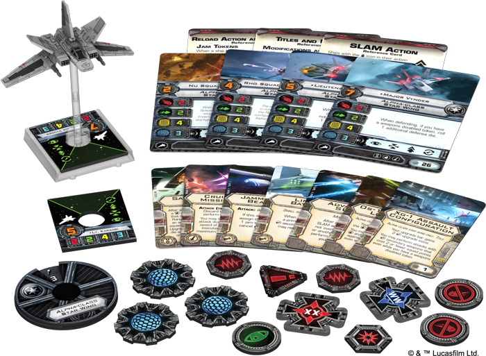 Star Wars X-Wing: Alpha-class Star Wing Expansion Pack image