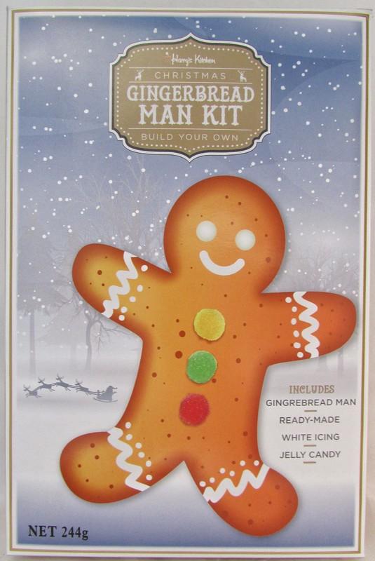 Gingerbread Man Make Your Own Kit (244g)