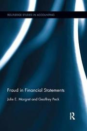 Fraud in Financial Statements by Julie E Margret