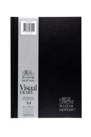Winsor & Newton: Hardcase Visual Diary - A4 (110gsm)