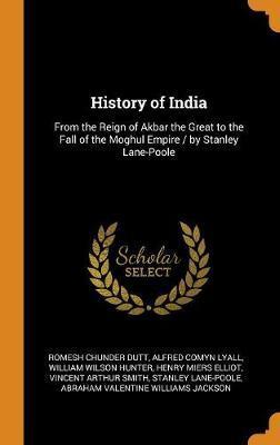 History of India by Romesh Chunder Dutt image