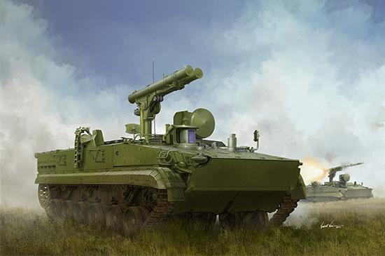 Trumpeter: Russian Anti-Tank Khrizantema - 1:35 Scale Model Kit