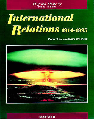 International Relations 1914-1995 by Tony Rea image