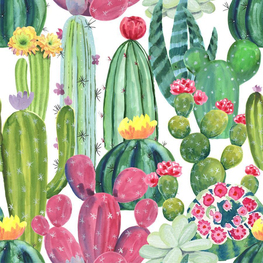 Retrolicious: Cactus Kids Dress - 5-6 image