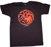 Game of Thrones: Targaryen Fire & Blood Men's T-Shirt - Small