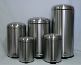 L.T. Williams - Stainless Steel Dome Top Pedal Bin - 5L