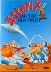 Asterix and The Big Fight (VHS) on DVD