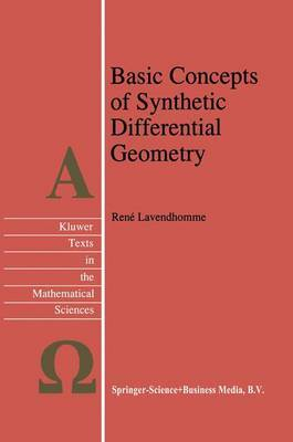 Basic Concepts of Synthetic Differential Geometry by Rene Lavendhomme image