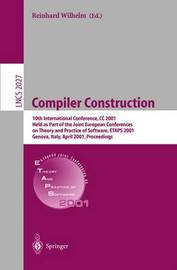 Compiler Construction by Reinhard Wilhelm