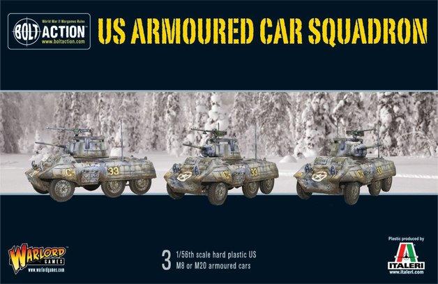 Bolt Action: US Armoured Car Squadron