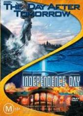 Day After Tomorrow, The/Independence Day - Double Pack (2 Disc Set) on DVD