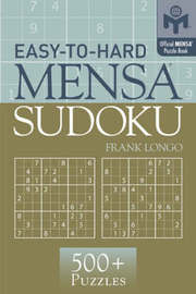 Easy-to-Hard Mensa (R) Sudoku by Frank Longo image