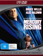 Mercury Rising on HD DVD