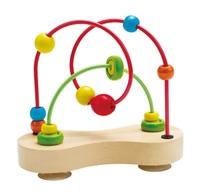 Hape: Double Bubble - Wooden Bead Maze
