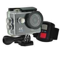 Ultra HD 4K Action Camera w/ Accessories Pack & Remote Control - Black