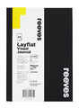 Reeves: A5 Layflat Visual Journal - Black Cover