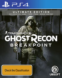Tom Clancy's Ghost Recon Breakpoint Ultimate Edition for PS4 image